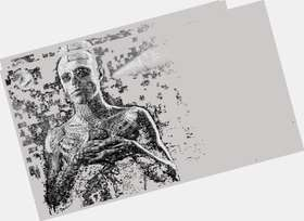 "<a href=""/hot-men/rick-genest/is-he-tattoos-real-married-straight-american-horror"">Rick Genest</a> Slim body,  bald hair & hairstyles"