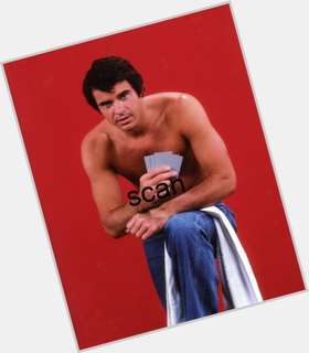 Robert Urich dark brown hair & hairstyles Athletic body,