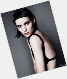 Rooney Mara light brown hair & hairstyles Athletic body,