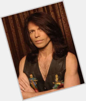 Rudy Sarzo dark brown hair & hairstyles Athletic body,