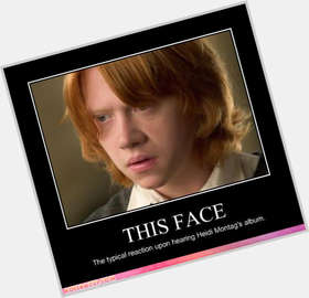 Rupert Grint red hair & hairstyles Average body,
