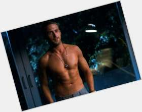 Ryan Gosling light brown hair & hairstyles Athletic body,