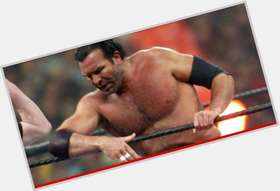 Scott Hall dark brown hair & hairstyles Athletic body,