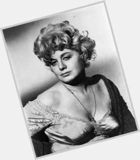 Shelley Winters light brown hair & hairstyles Athletic body,