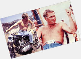 Steve Mcqueen blonde hair & hairstyles Athletic body,
