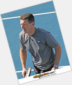 Stone Phillips dark brown hair & hairstyles Athletic body,