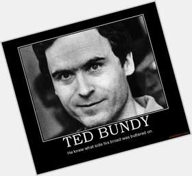 Ted Bundy dark brown hair & hairstyles Athletic body,