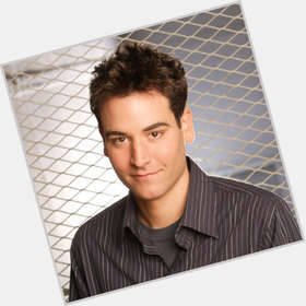 Ted Mosby dark brown hair & hairstyles Athletic body,