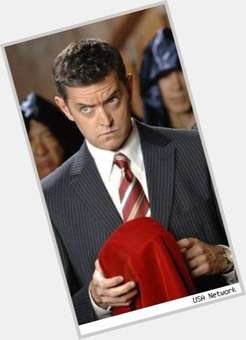 Timothy Omundson dark brown hair & hairstyles Athletic body,