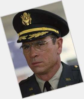 Tommy Lee Jones light brown hair & hairstyles Athletic body,