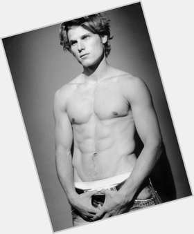 Travis Van Winkle dark brown hair & hairstyles Athletic body,