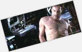 Aaron Eckhart blonde hair & hairstyles Athletic body,