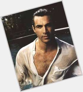 Adrian Paul dark brown hair & hairstyles Athletic body,