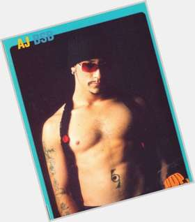 "<a href=""/hot-men/a-j-mclean/is-he-aj-married-getting-still-sober-bald"">A J Mclean</a> Average body,  dark brown hair & hairstyles"