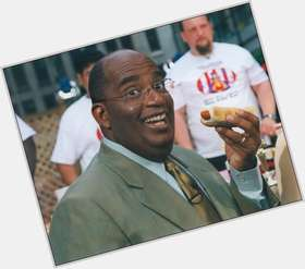 "<a href=""/hot-men/al-roker/is-he-married-gaining-weight-sick-still-today"">Al Roker</a> Average body,  bald hair & hairstyles"