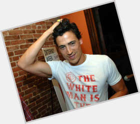 Andrew Keegan dark brown hair & hairstyles Athletic body,
