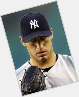 Andy Pettitte dark brown hair & hairstyles Athletic body,