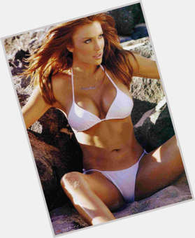 "<a href=""/hot-women/angelica-bridges/is-she-married"">Angelica Bridges</a> Slim body,  dyed red hair & hairstyles"