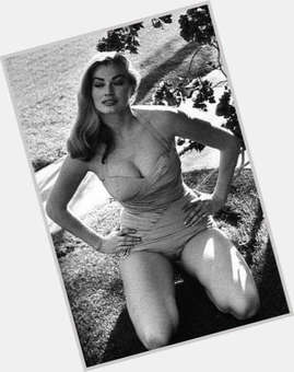 Anita Ekberg blonde hair & hairstyles Voluptuous body,