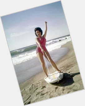 Annette Funicello dark brown hair & hairstyles Voluptuous body,