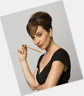 "<a href=""/hot-women/annie-potts/is-she-alive-true-blood-married-republican-still"">Annie Potts</a>  dark brown hair & hairstyles"