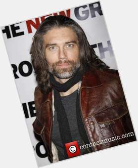 Anson Mount dark brown hair & hairstyles Athletic body,