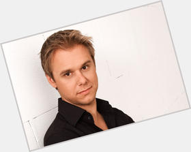 Armin Van Buuren blonde hair & hairstyles Athletic body,