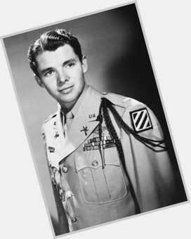 Audie Murphy light brown hair & hairstyles Athletic body,