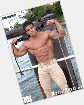 Austin St John dark brown hair & hairstyles Athletic body,