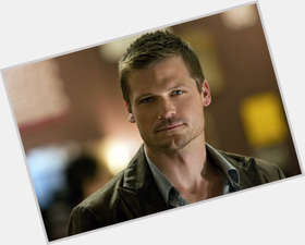 Bailey Chase dark brown hair & hairstyles Athletic body,