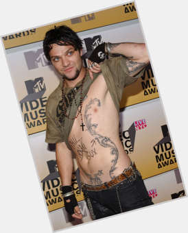 Bam Margera dark brown hair & hairstyles Athletic body,