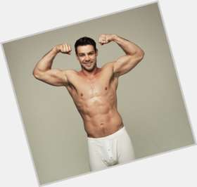 Ben Foden dark brown hair & hairstyles Athletic body,