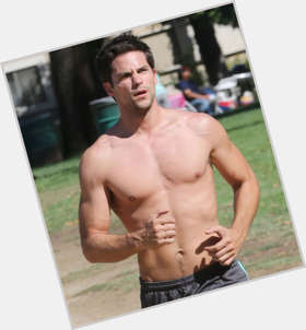 Brant Daugherty dark brown hair & hairstyles Athletic body,
