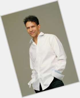 Brian Stokes Mitchell dark brown hair & hairstyles Athletic body,