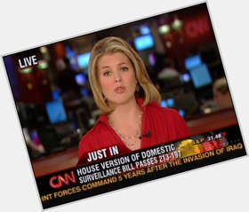 Brianna Keilar blonde hair & hairstyles Voluptuous body,