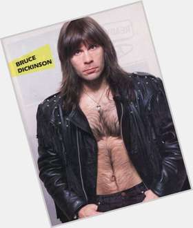 "<a href=""/hot-men/bruce-dickinson/is-he-atheist-christian-married-still-iron-maiden"">Bruce Dickinson</a> Average body,  dark brown hair & hairstyles"