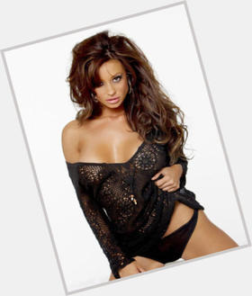 Candice Michelle dark brown hair & hairstyles Athletic body,