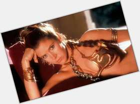 "<a href=""/hot-women/carrie-fisher/is-she-married-new-star-wars-related-judy"">Carrie Fisher</a> Average body,  dark brown hair & hairstyles"