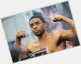 "<a href=""/hot-men/chadwick-boseman/is-he-married-single-dating-when-birthday-much"">Chadwick Boseman</a> Athletic body,  black hair & hairstyles"