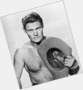 Chuck Connors blonde hair & hairstyles Athletic body,