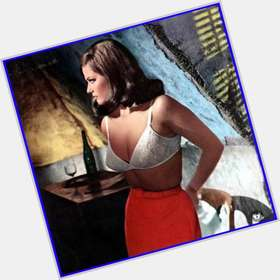 Claudia Cardinale dark brown hair & hairstyles Voluptuous body,