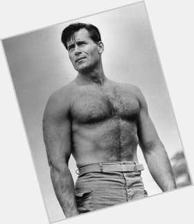 "<a href=""/hot-men/clint-walker/is-he-still-alive-part-indian-married-christian"">Clint Walker</a> Bodybuilder body,  dark brown hair & hairstyles"