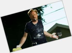 "<a href=""/hot-men/conan-o-brien/is-he-obrien-zombie-sprint-commercial-still-tv"">Conan O Brien</a> Slim body,  red hair & hairstyles"