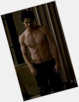 "<a href=""/hot-men/damon-salvatore/is-he-human-married-evil-bad-guy-good"">Damon Salvatore</a> Athletic body,  dark brown hair & hairstyles"