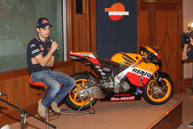 Dani Pedrosa dark brown hair & hairstyles Athletic body,