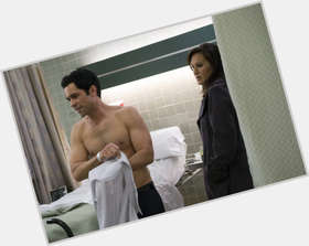Danny Pino dark brown hair & hairstyles Athletic body,