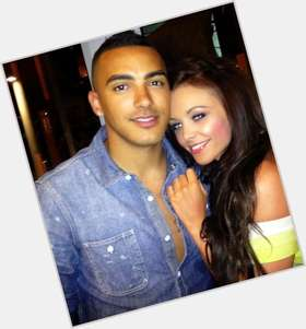 Danny Simpson dark brown hair & hairstyles Athletic body,