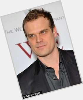 David Harbour blonde hair & hairstyles Athletic body,