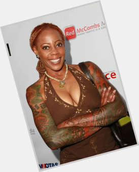 Debra Wilson black hair & hairstyles Athletic body,