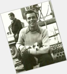 Dirk Bogarde light brown hair & hairstyles Athletic body,